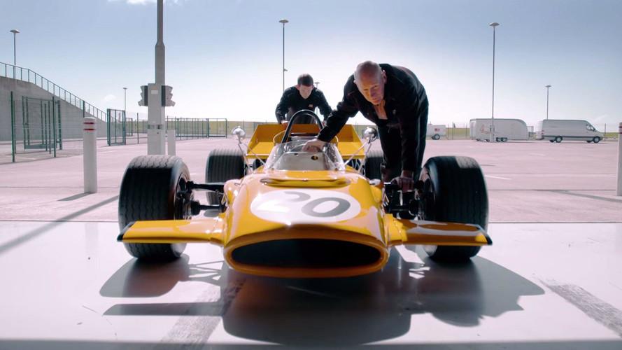 Derek Bell Reunited With Vintage McLaren F1 Car