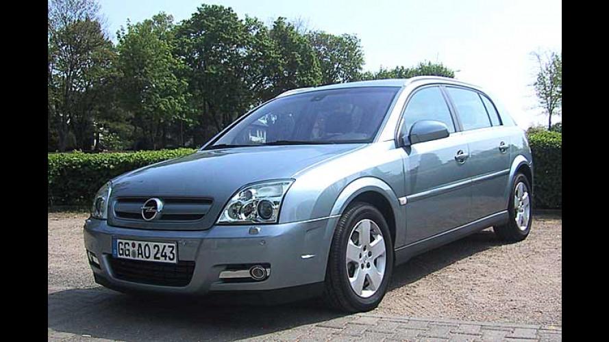 Der Opel Signum mit neuem 1,9-Liter-CDTI-Diesel im Test