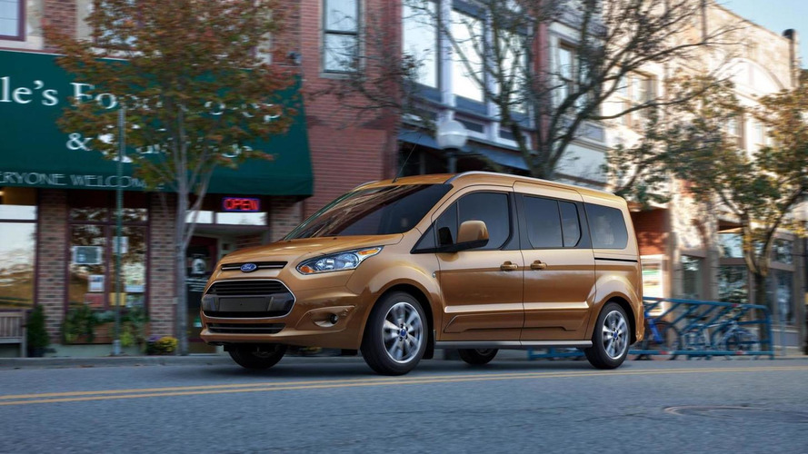 2013 Ford Transit Connect Wagon seven-seater to return 30+ mpg