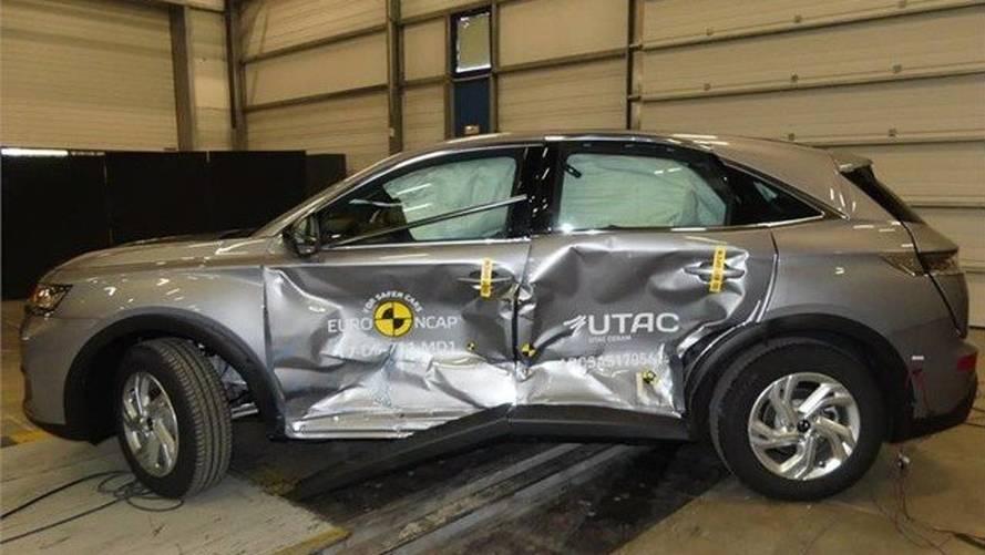 DS 7 Crossback crash-test