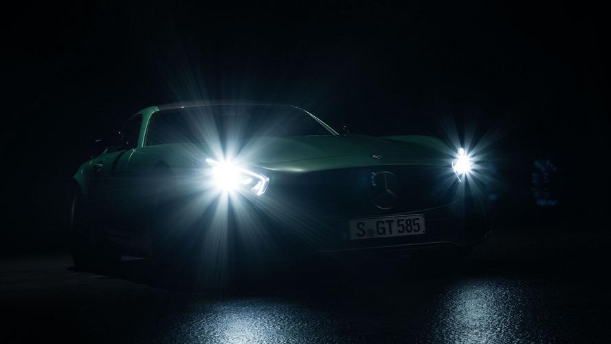 Mercedes-AMG GT R teased before Goodwood debut