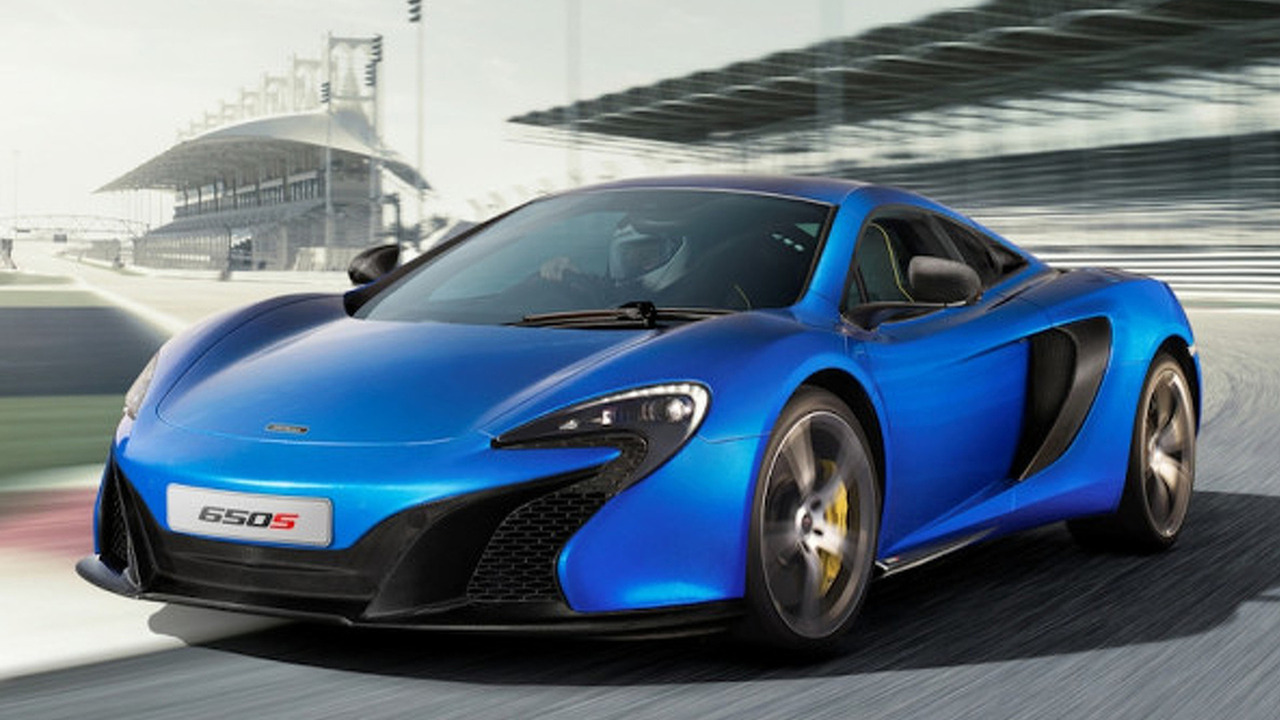 McLaren Releases Images, Details on all-new 650S Supercar
