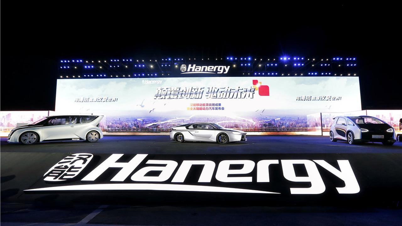 Hanergy launches full solar power vehicles
