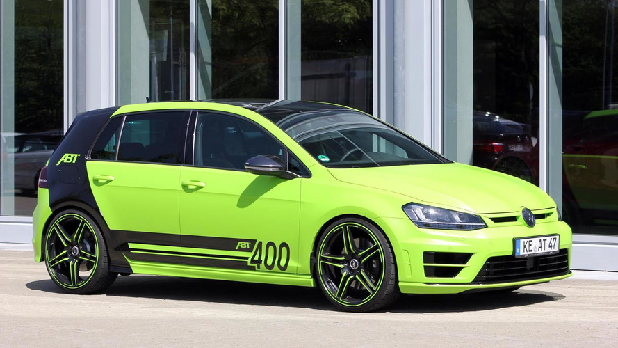ABT brings 400 PS Golf R wearing lime green wrap to Worthersee