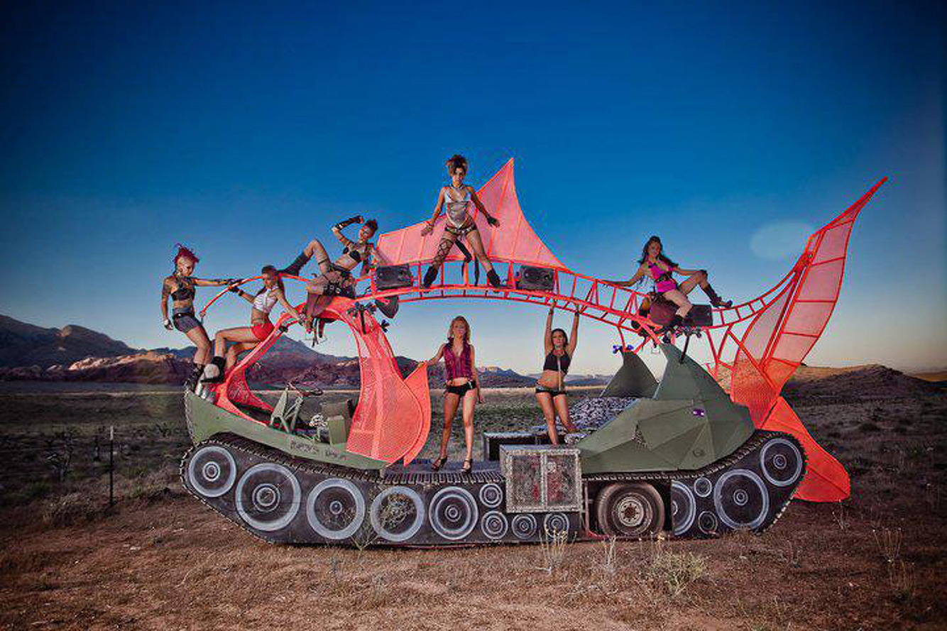 Burning Man Art Cars are Big Business for one New York Resident