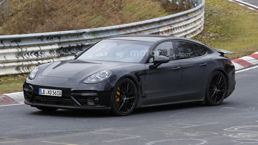 2017 Porsche Panamera hits the Nürburgring one more time