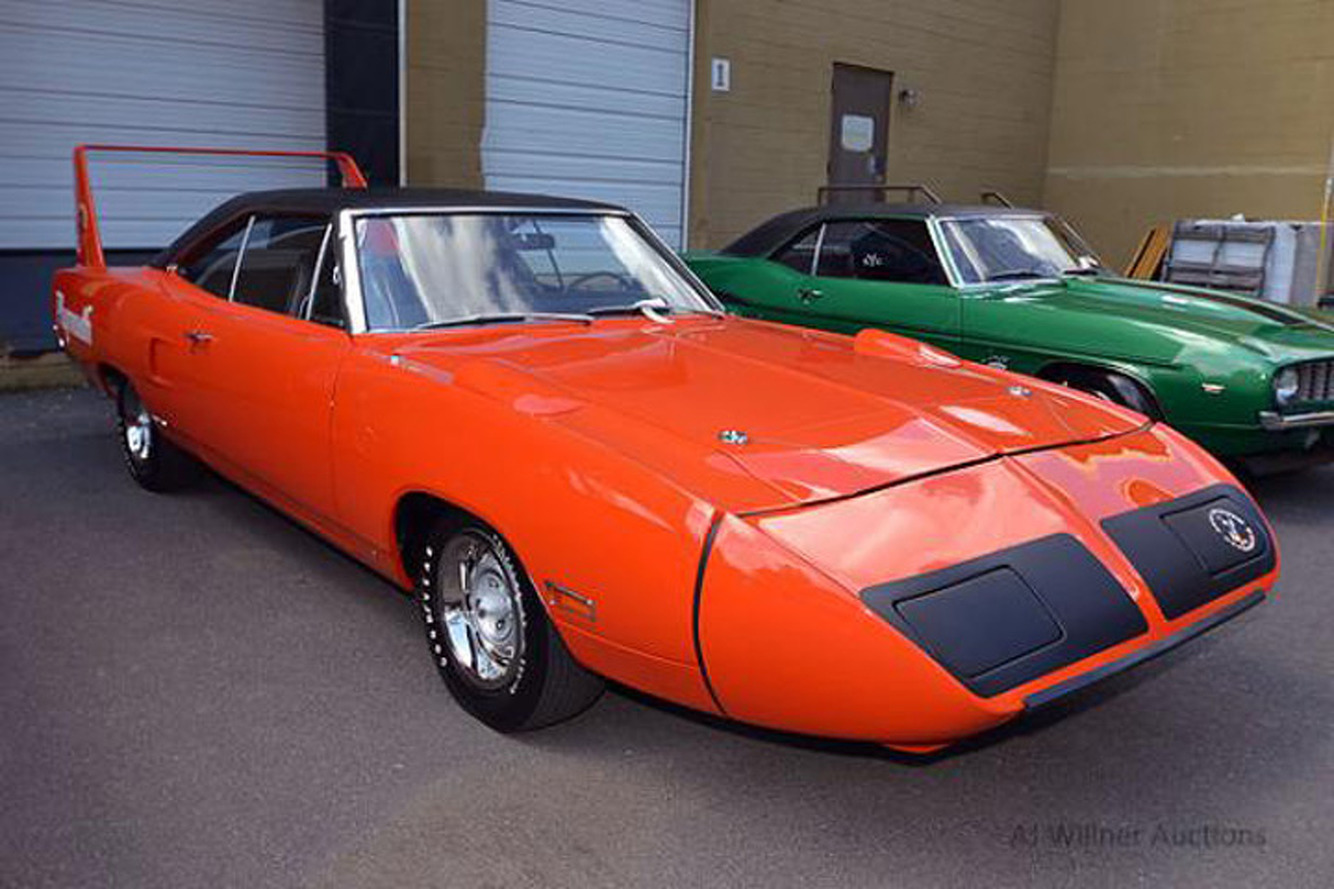 US Marshals Auctioning Off Rare Muscle Car Collection, Including a Superbird