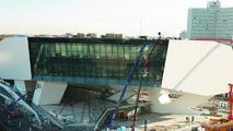 The new Porsche museum (November 2008)
