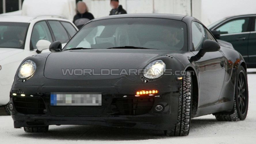 2011 Porsche 991 LED Rear Lamps Spied