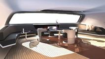 Royal Falcon Fleet RFF135 power catamaran by Porsche Design
