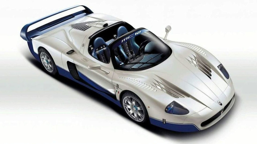 Maserati MC12 Takes Production Car Nurburgring Lap Record