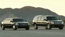 Cadillac DTS and Escalade ESVe limousines