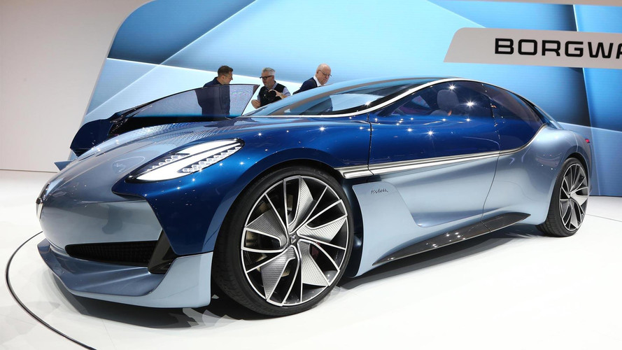 Borgward Isabella Concept Reboots The Classic Coupe In Frankfurt
