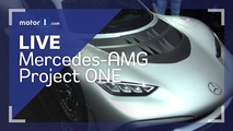 Mercedes-AMG Project One Live Look Cover