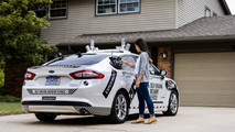 Domino's Pizza Autonomous Ford Fusion
