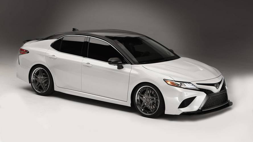 Toyota S Nascar Drivers Unleash Customized Camrys At Sema