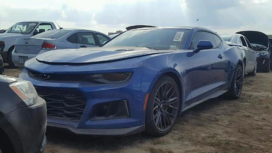 Chevrolet Camaro Zl1 Harvey