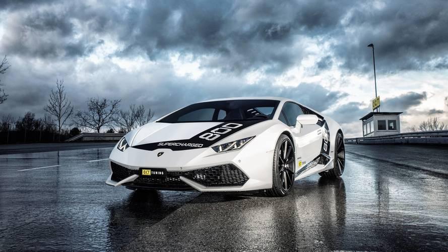 O.CT Tuning potencia a 805 CV el Lamborghini Huracán