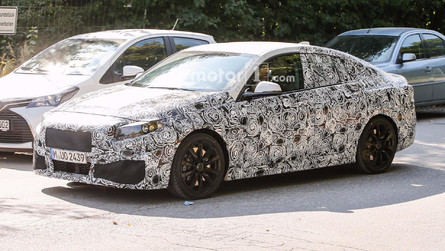 BMW 2 Series Gran Coupe Spied For The First Time