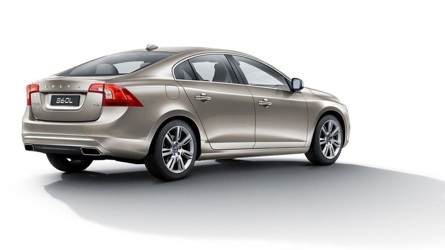 2014 Volvo S60L unveiled, features a stretched wheelbase
