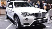 BMW X3 facelift at Geneva Motor Show