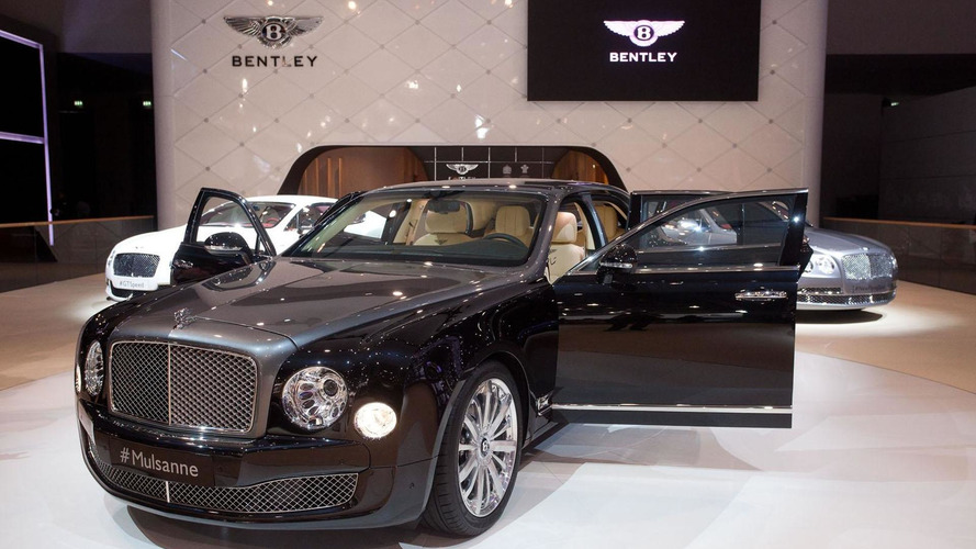 Two-tone Bentley Mulsanne Shaheen unveiled at the Dubai Motor Show