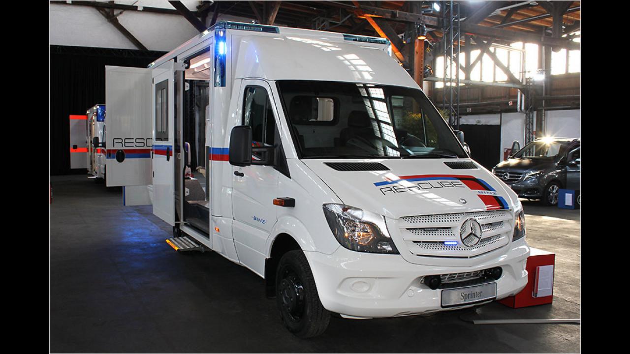 Rettungsfahrzeug von Binz Ambulance