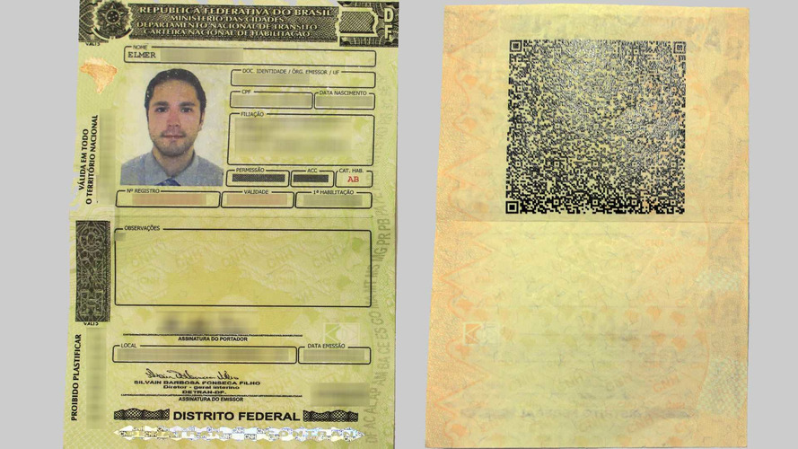 Denatran apresenta a nova carteira de motorista com QR code