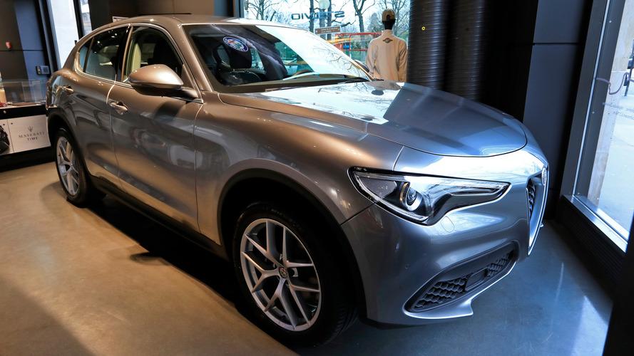 Alfa Romeo - Le Stelvio First Editon est à Paris !