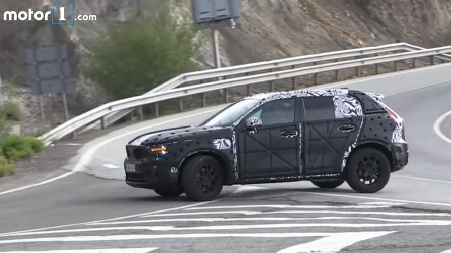 2018 Volvo XC40 test için İspanya'da
