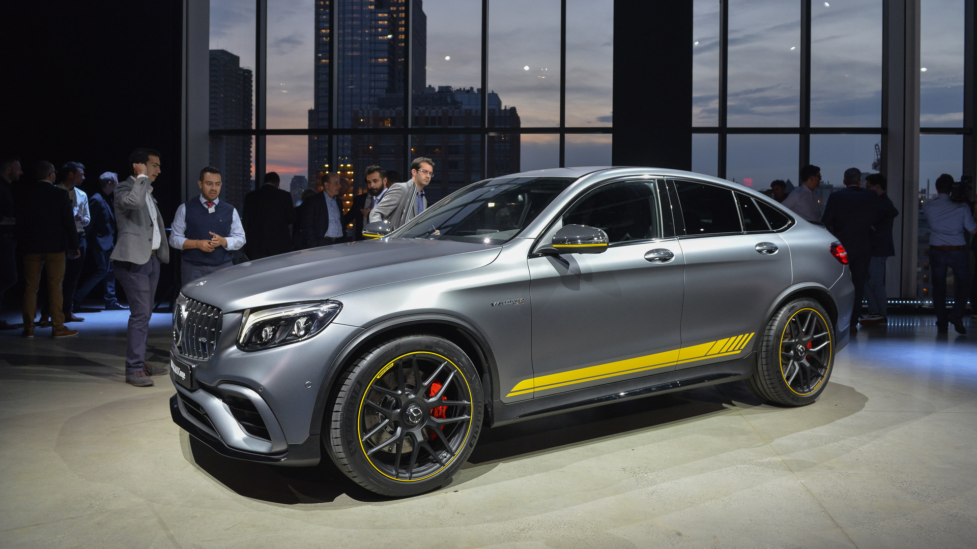 Mercedes glc63 brings its supercar speed to new york for Mercedes benz of new york