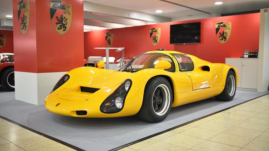 Porsche 910, elektrikli süper otomobil olarak yeniden doğdu