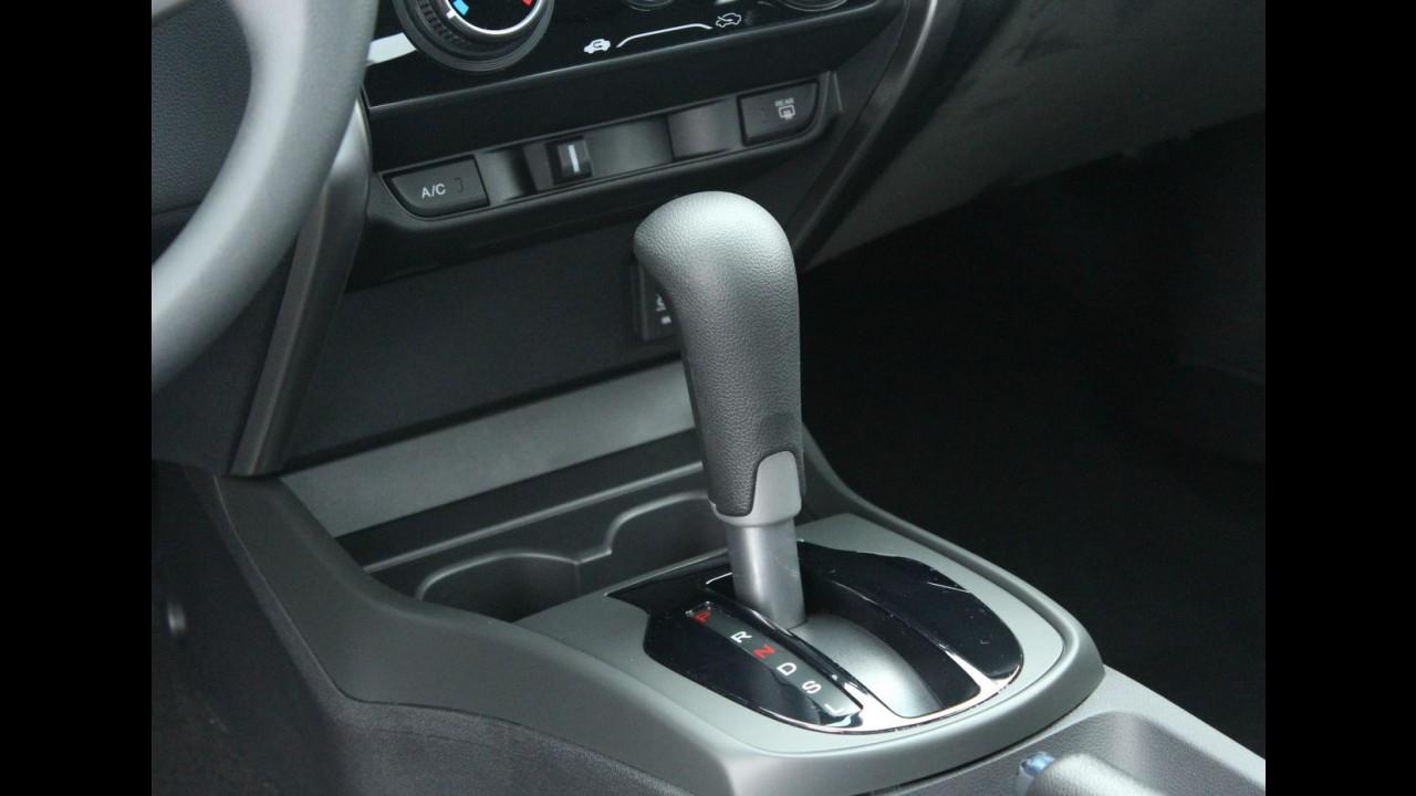 Honda City terá câmbio CVT na versão de entrada DX a partir de julho