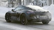 2013 Porsche Cayman prototype spy photo