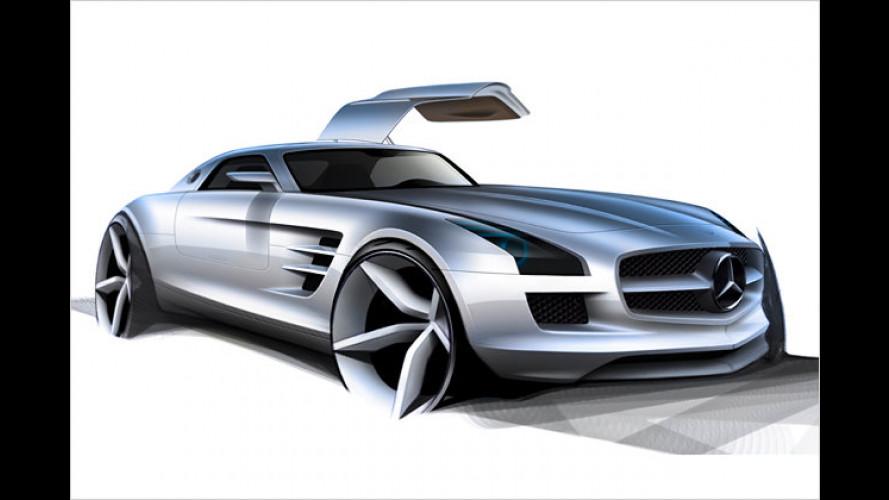 Entspannter Extremsport: Der Innenraum des Mercedes SLS