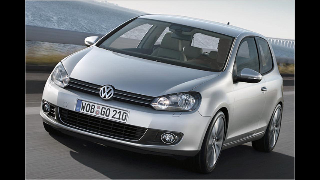 VW Golf 1.6 TDI BlueMotion Technology Trendline 3-türig DPF