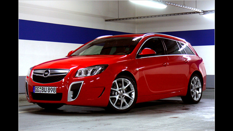 Opel Insignia Sports Tourer OPC: Wilder Sportkombi