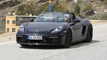 2019 Porsche 718 Boxster Spyder new spy photos
