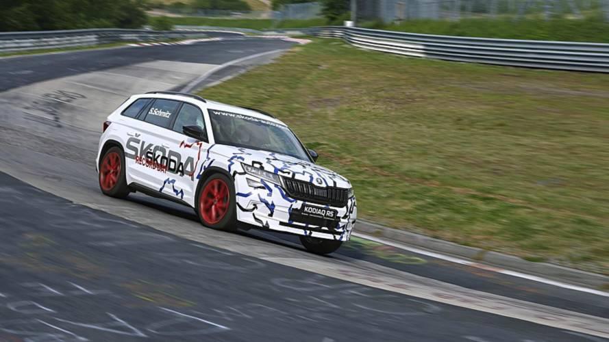 Skoda Kodiaq RS sets 7-seat SUV Nurburgring record