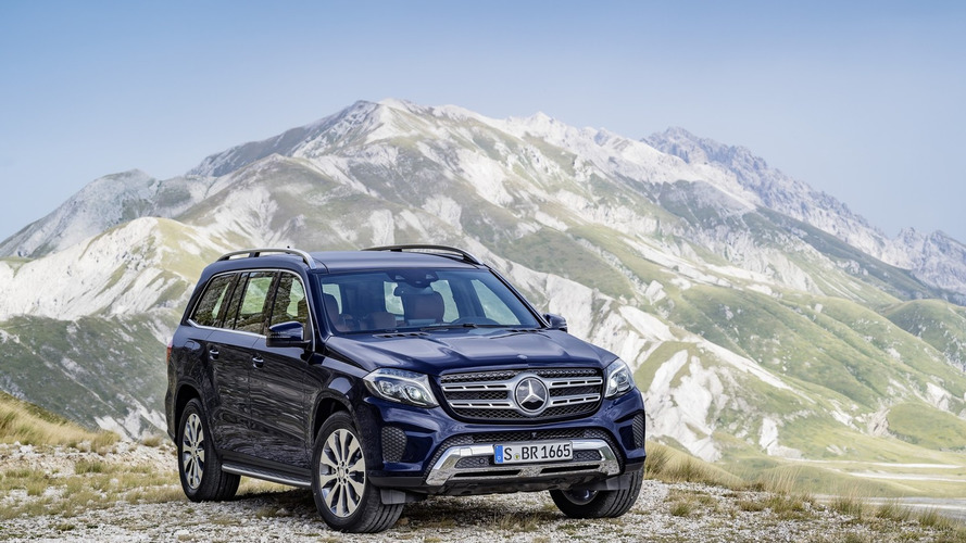 2017 Mercedes-Benz GL facelift officially revealed as the new GLS