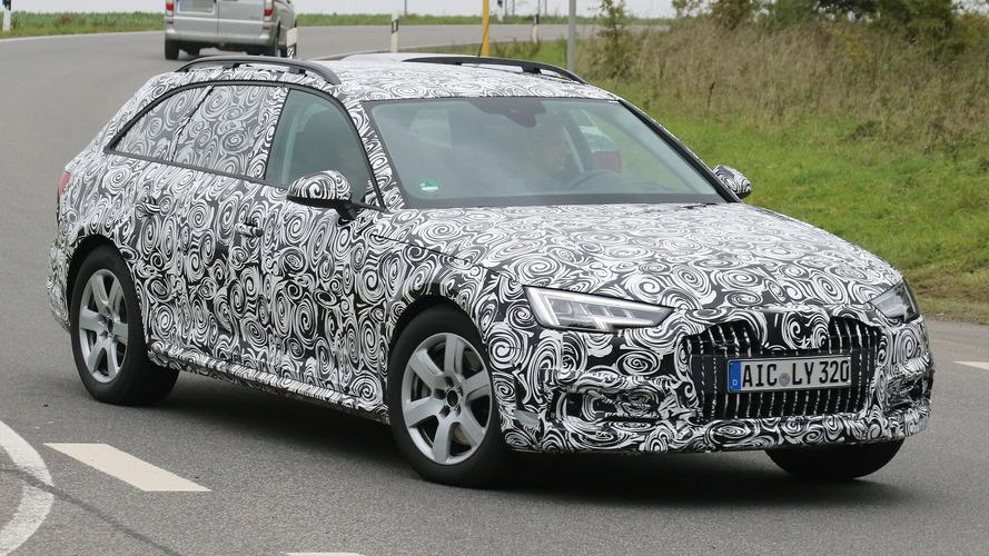 Audi A4 Allroad loses some camo in latest spy shots