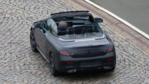 Mercedes C-Class Convertible spy photo