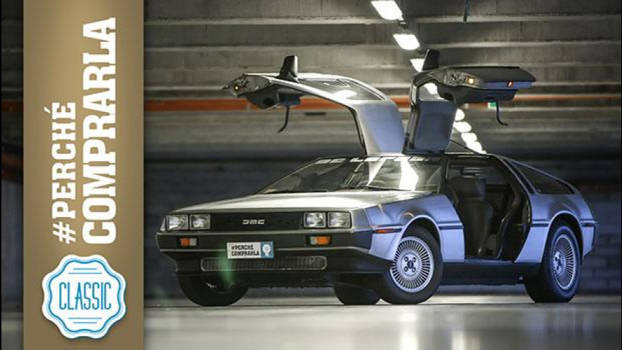 DeLorean DMC-12: perché comprare l'auto di Ritorno al Futuro [VIDEO]