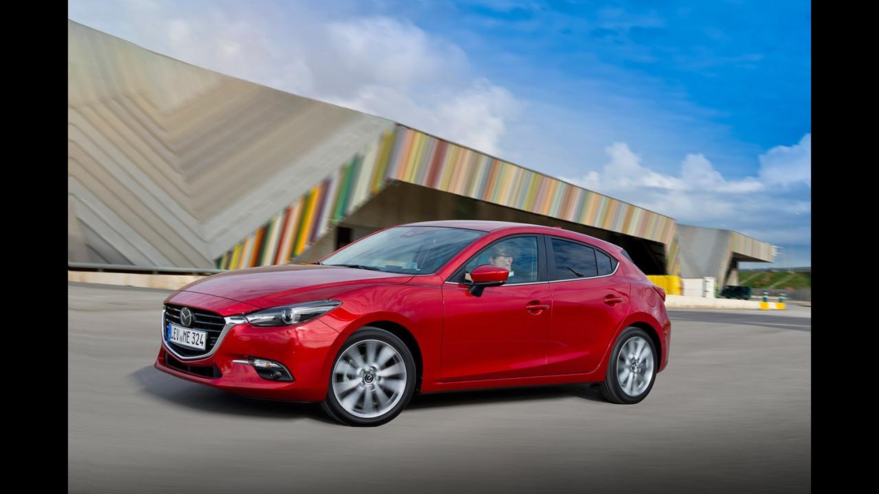 Mazda3 restyling 2017