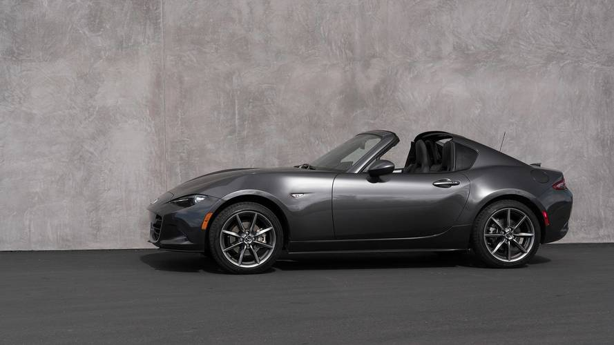 2018 Mazda MX-5 RF Keeps You Warm With Standard Heated Seats