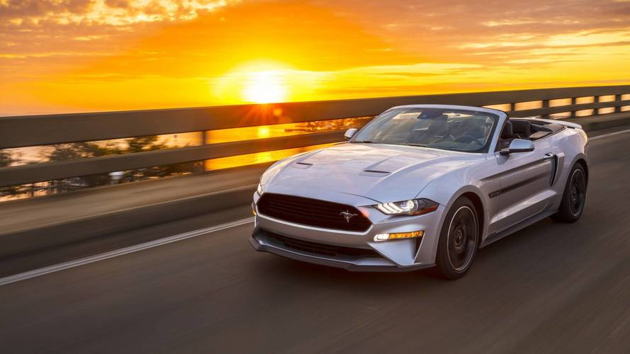 2019 Ford Mustang Marks Return Of Retro-Flavored California Special