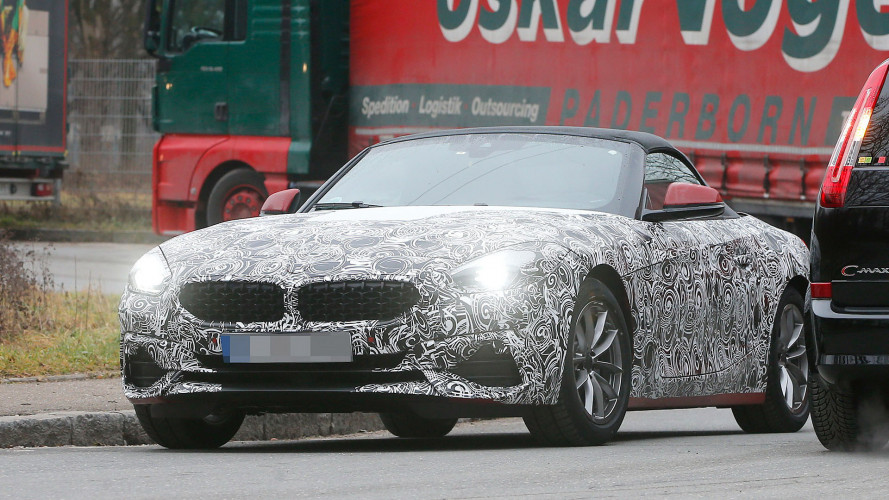 Erwischt: BMW Z4