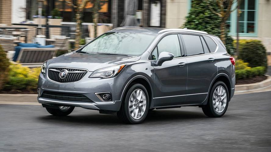 Refreshed 2019 Buick Envision Adds Nine-Speed Automatic