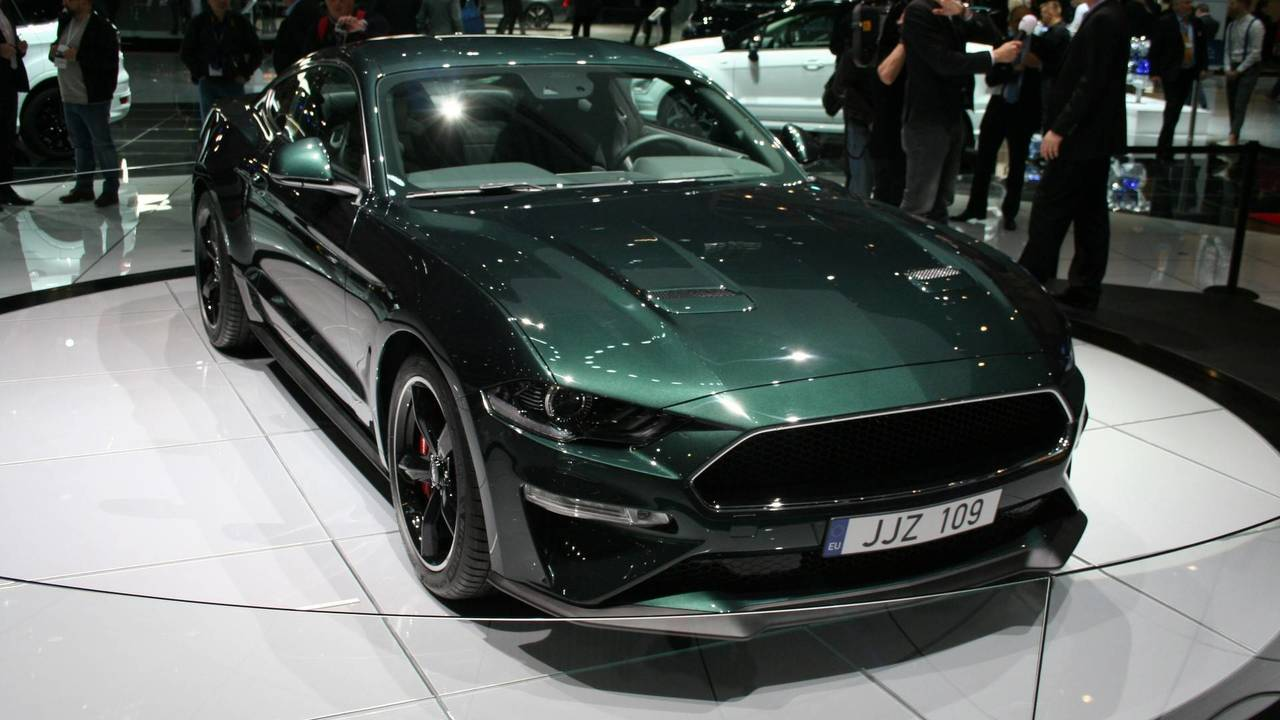 ford mustang bullitt arrives in geneva to mark european launch. Black Bedroom Furniture Sets. Home Design Ideas