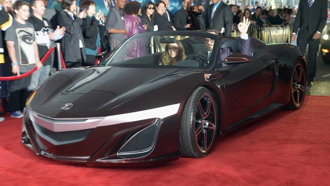 Good: Acura NSX Roadster in The Avengers